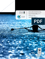 Environmental Sustainability Policy and Guidelines