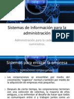 Sistemas de Información para la administración