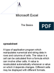 Microsoft Excel Beginner