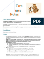 Paper Two Guidance Notes