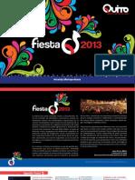 Agenda Fiestas Quito