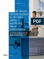 White Paper - Secure Remote Access to 3D Data