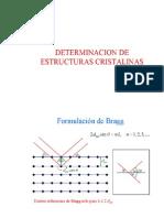 (Determinacion de Estructura Cristalina)