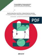 PARTICIPACIÓN POLÍTICA, DEMOCRACIA DIGITAL