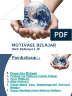 Kelompok 4 Motivasi Belajar