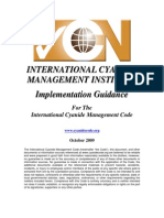 International Cyanide Management Code