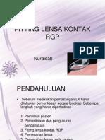 Fitting Lensa Kontak Rgp