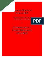 Crisis de la Federación Libertaria Argentina, 2012 (Comunicados, Mesa de Diálogo y Carta Orgánica)