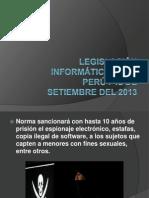 Legislacíon Informatíca en el perú