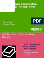 Auxiliary Power Reduction in Thermal Power Plant