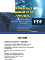 Performance Management and Appraisal 1