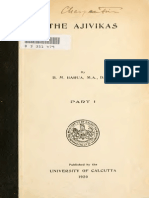 The Ajivikas Pt 1 Barua