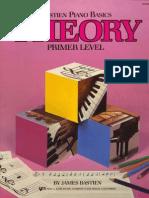 Metodo de Piano Bastien - Piano Basics Theory Primer