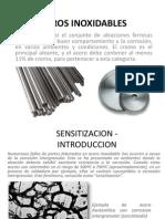 ACEROS INOXIDABLES (sensitizacion)