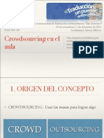 Crowdsourcing en El Aula