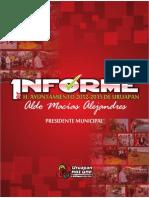 Primer Informe De Gobierno - Ing. Aldo Macías Alejandres