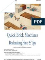 Good Hints and Tips on Brick-Making