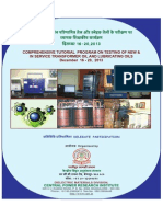 SIGNIFICANCE OF TRANSFORMER OIL TESTING