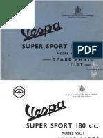 Vespa Super Sport 180cc