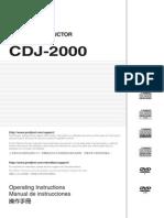 Cdj-2000 Operating Manual Eng-esp