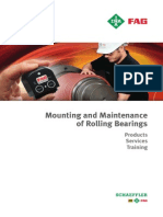 Maintainance of Rolling Bearings