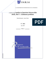 Numerical analysis of junctions between thin shell2.pdf