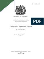 15773305 Design of a Supersonic Nozzle