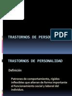Trastor. de Personalidad