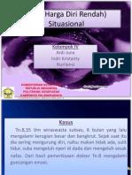 HDR (Harga Diri Rendah) Situasional