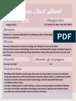 Fact Sheet Pretty