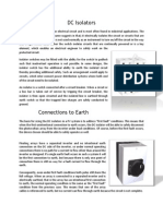 PVConnection DC Isolators