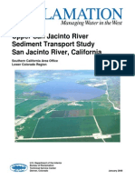 Upper San Jacinto River Sediment Transport Study Final