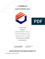 Analisis Kualitatif Anion (B)