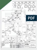 Offshore Production Facility Process Flow Diagram