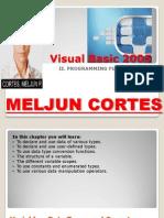 MELJUN CORTES Visual Basic 2005 - 02 Programming Fundamentals