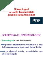 Stagiul v - Screening-Ul in BT Si BNT