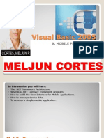 MELJUN CORTES Visual Basic 2005 - 10 Mobile Programming