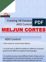 MELJUN CORTES Visual Basics ADO Control