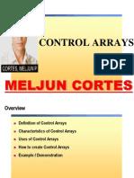 MELJUN CORTES Visual Basic Control Arrays
