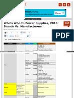Power Supply Oem Manufacturer 2(9)