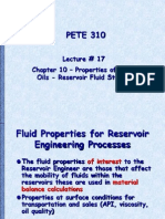 Reservoir Fluid Studies