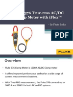 Fluke 376 True-rms AC/DC Clamp Meter with iFlex™