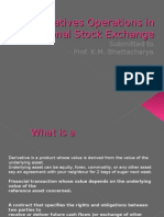 Derivatives Operations in National Stock Exchange