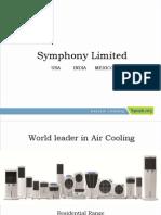 Symphony Corporate Ppt