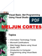 MELJUN CORTES VB.NET Technical Faculty Module - Part1 WSD