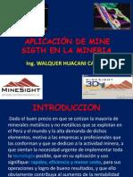 Aplicacion Del Mine Sigth a La Mineria