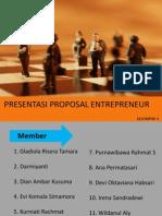Presentasi Entrepreneur Kel 4
