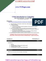 CS101_MID_FALL2004