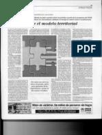 230913 El Mundo. Zapatero.el Pacto Sobre El Modelo Territorial