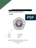 Fata Hudaya 19112164 4ka32 Tugas 1 Bahasainggrisbisnis1